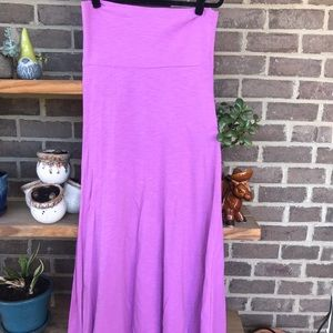 LuLaRoe Maxi skirt / dress, size Med